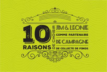 10 bonnes raisons de nous faire confiance!