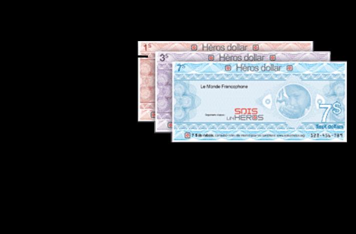 Bien-aimé Héros-Dollar — Générations Héros WR53