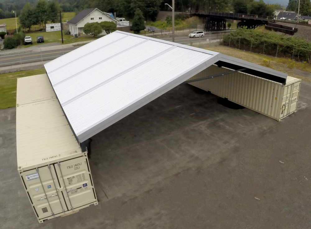 Container Temporary Roof system