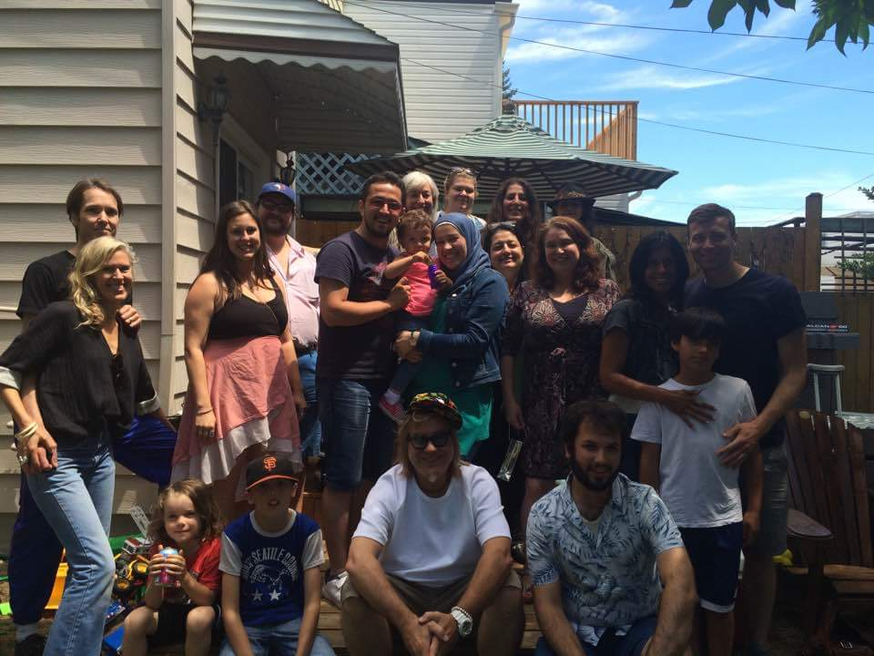 The Westside Refugee Response welcomes Amir, Noor and Sally, July 16, 2016