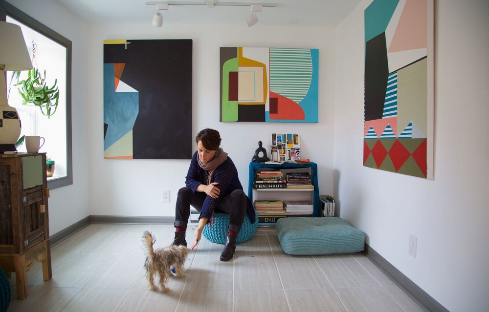 Inside the Studio - CANVAS: a blog by Saatchi Art