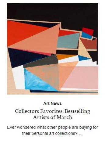 SAATCHI ART - CANVAS Blog April 2019