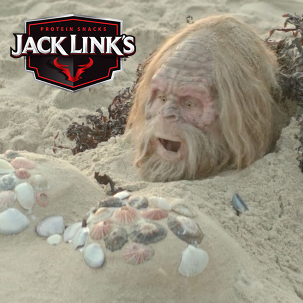 Jack Link's Beef Jerky I messed with Sasquatch
