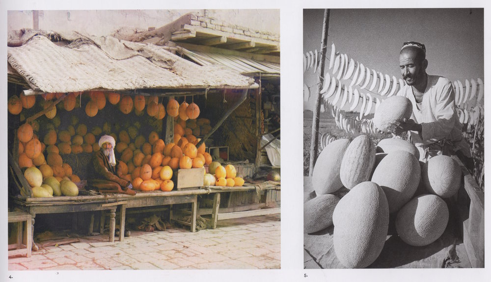 Melon Vendor and Melon Grower
