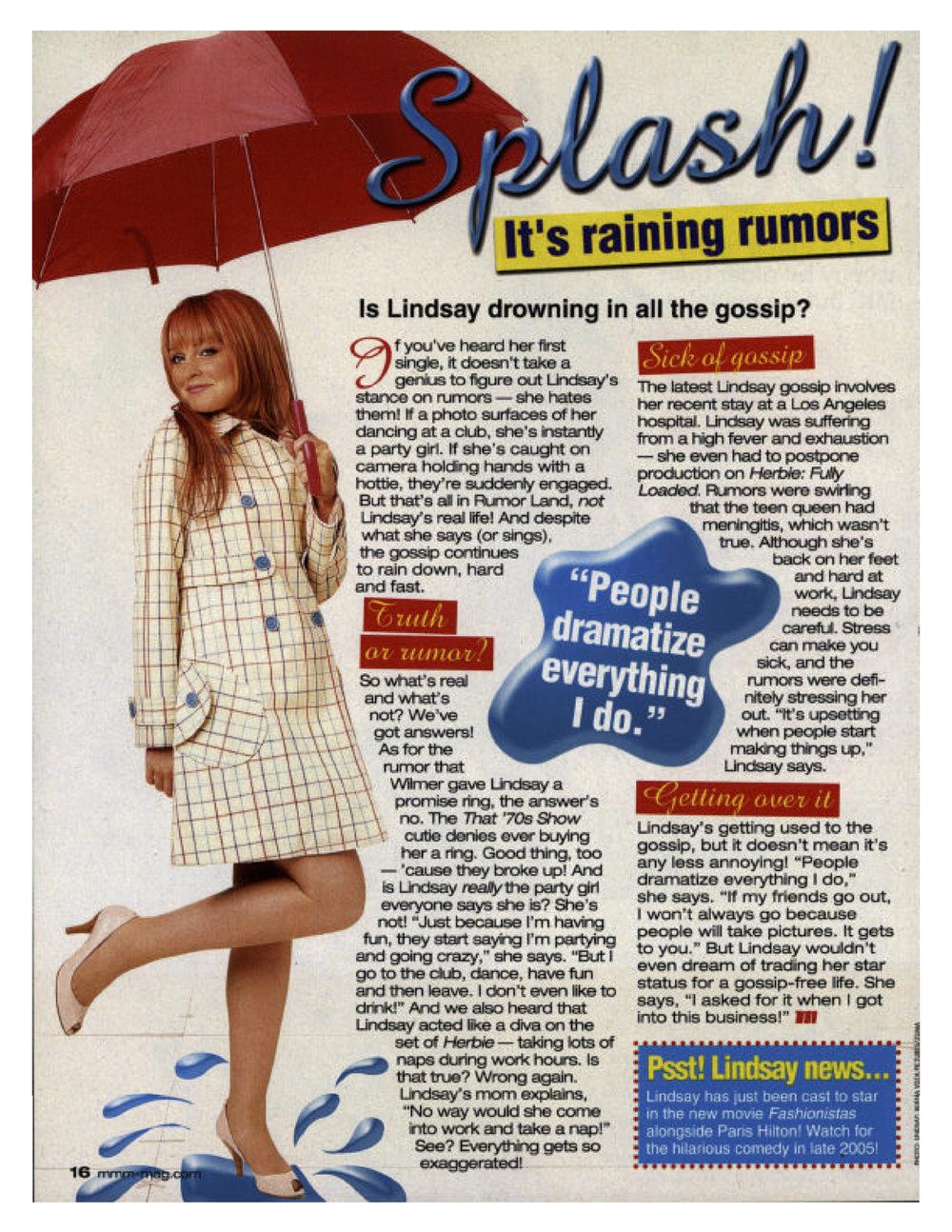 2005 | Lindsay Lohan