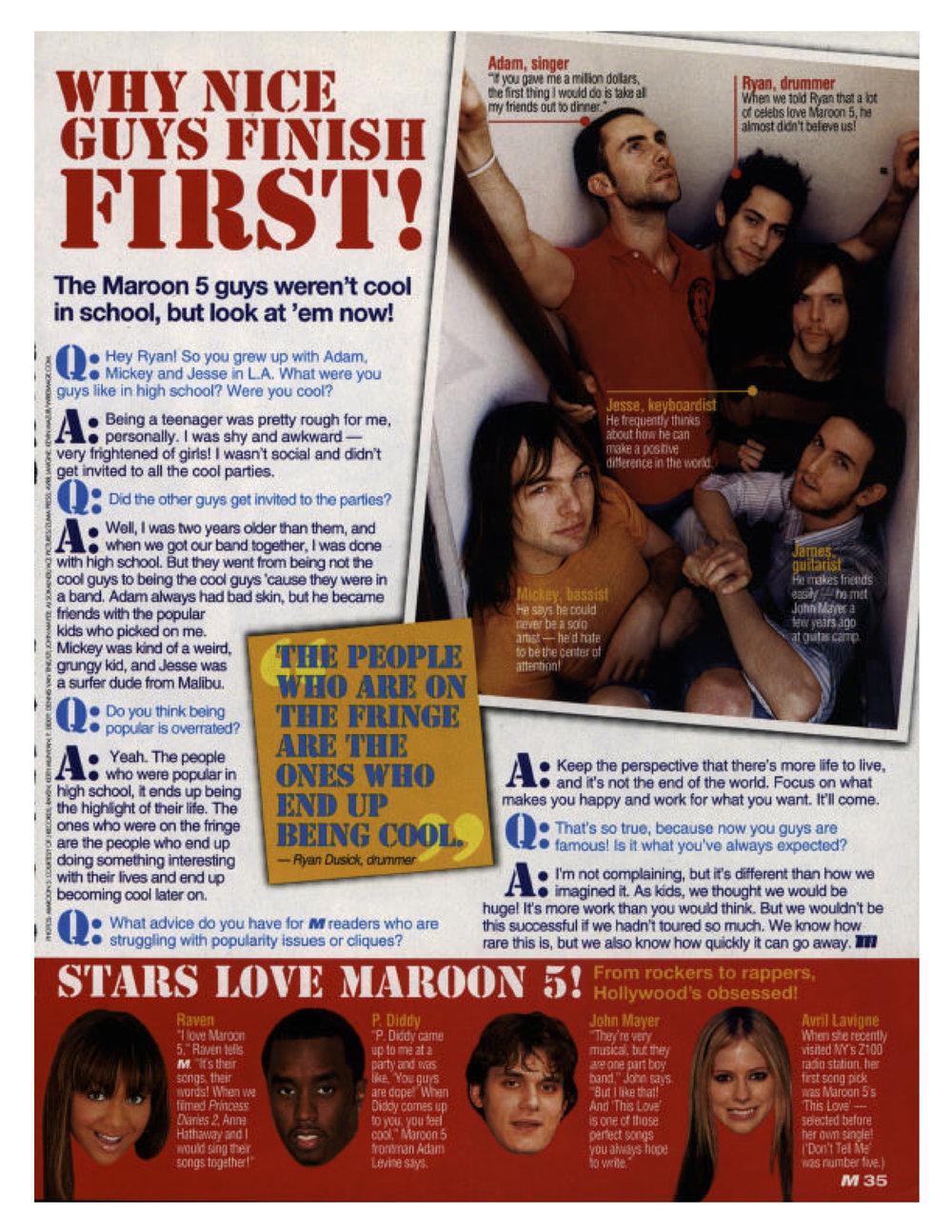 2005 | Maroon 5