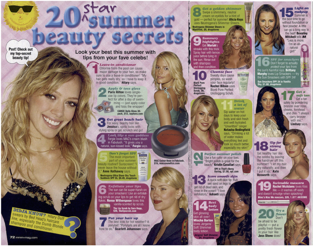 2006 | Summer Beauty Secrets