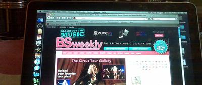 britney.com | 2009