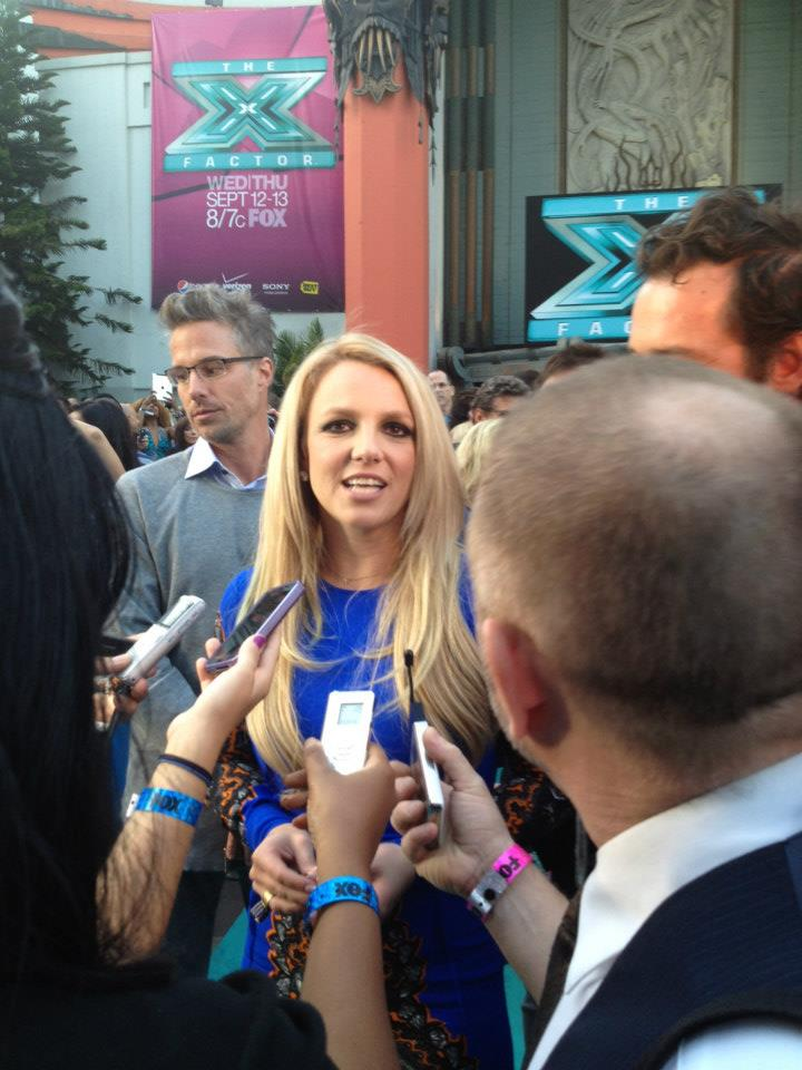 the x factor premiere | los angeles 2012