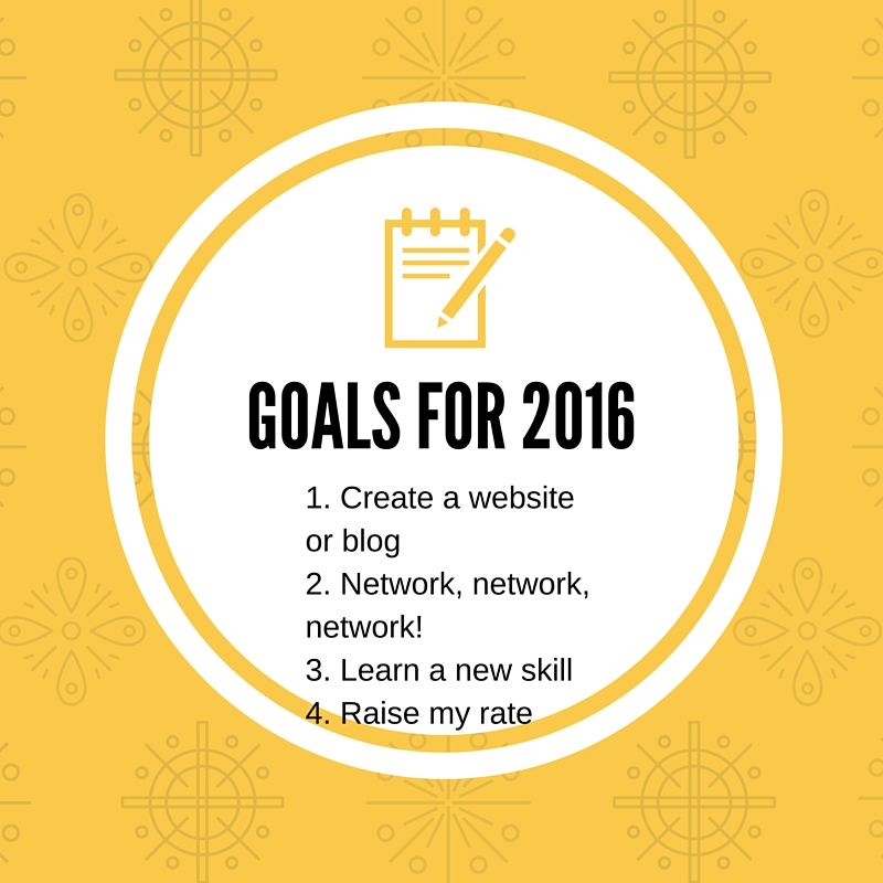 Make 2016 Your Year As A Freelance Writer!