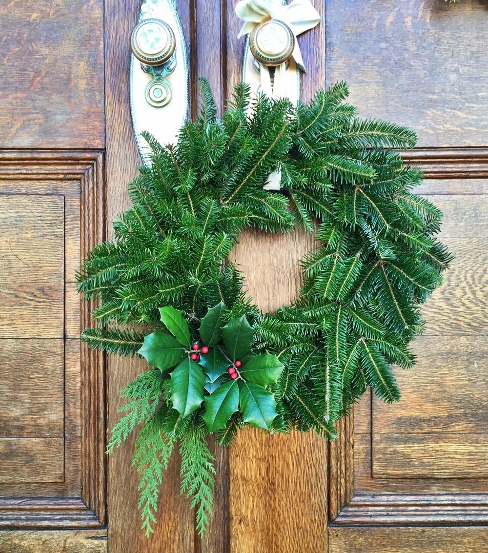 Christmas Wreath with Holly.jpg