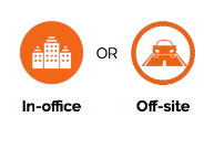 In-office, Onsite, or Offsite