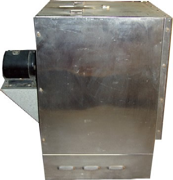 Side View of Oven