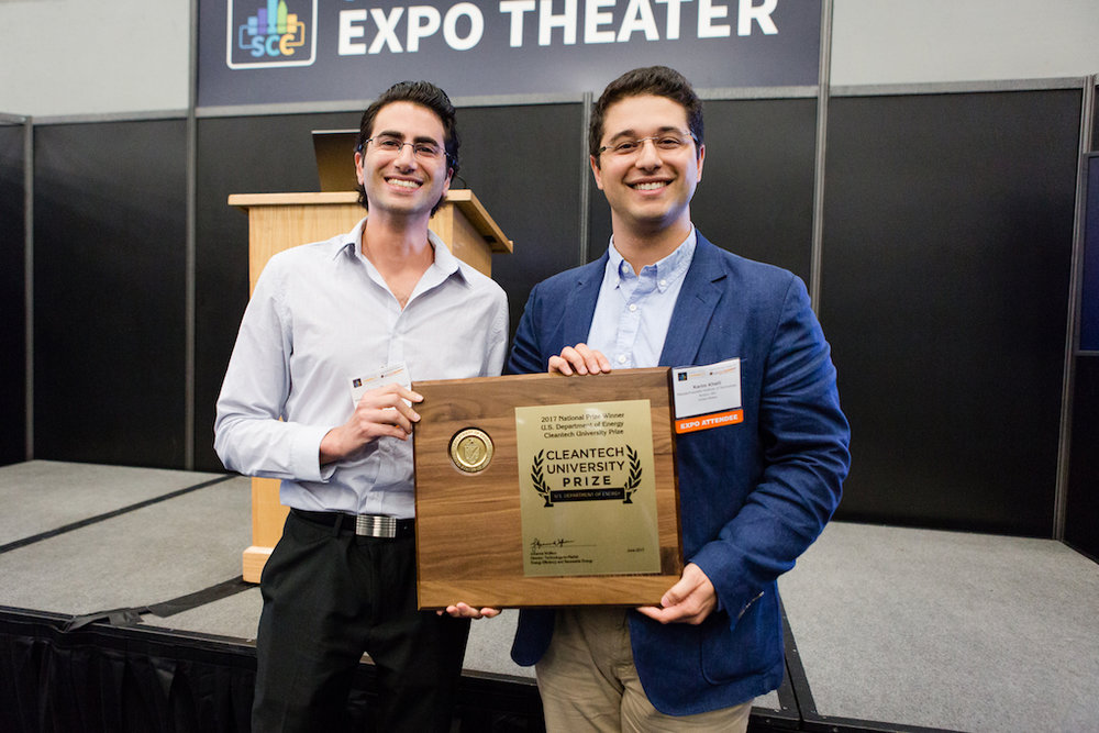 Infinite Cooling from the Massachusetts Institute of Technology (MIT) took first place at the U.S. Department of Energy's (DOE's) 2017 Cleantech University Prize (Cleantech UP) national collegiate business plan competition in Austin, Texas.