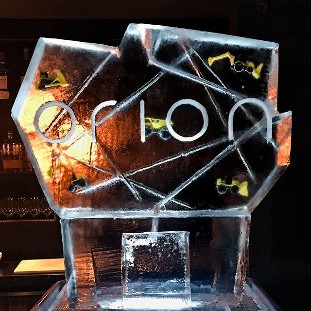 Wonder why there are trucks frozen in the ice luge? Orion is a mining company! . . . #orion #logo #corporateevent #mining #trucks #cattrucks #ice #icesculpture #frozenobjects #corporate #logosculpture #iceluge #drinks #luge #vodka #tequila #gin #cocktails #party #partyinspiration #orionresourcepartners #thenomadhotel #thenomad #nycevents #luxuryevents #branding #brand #unique #fun #celebration