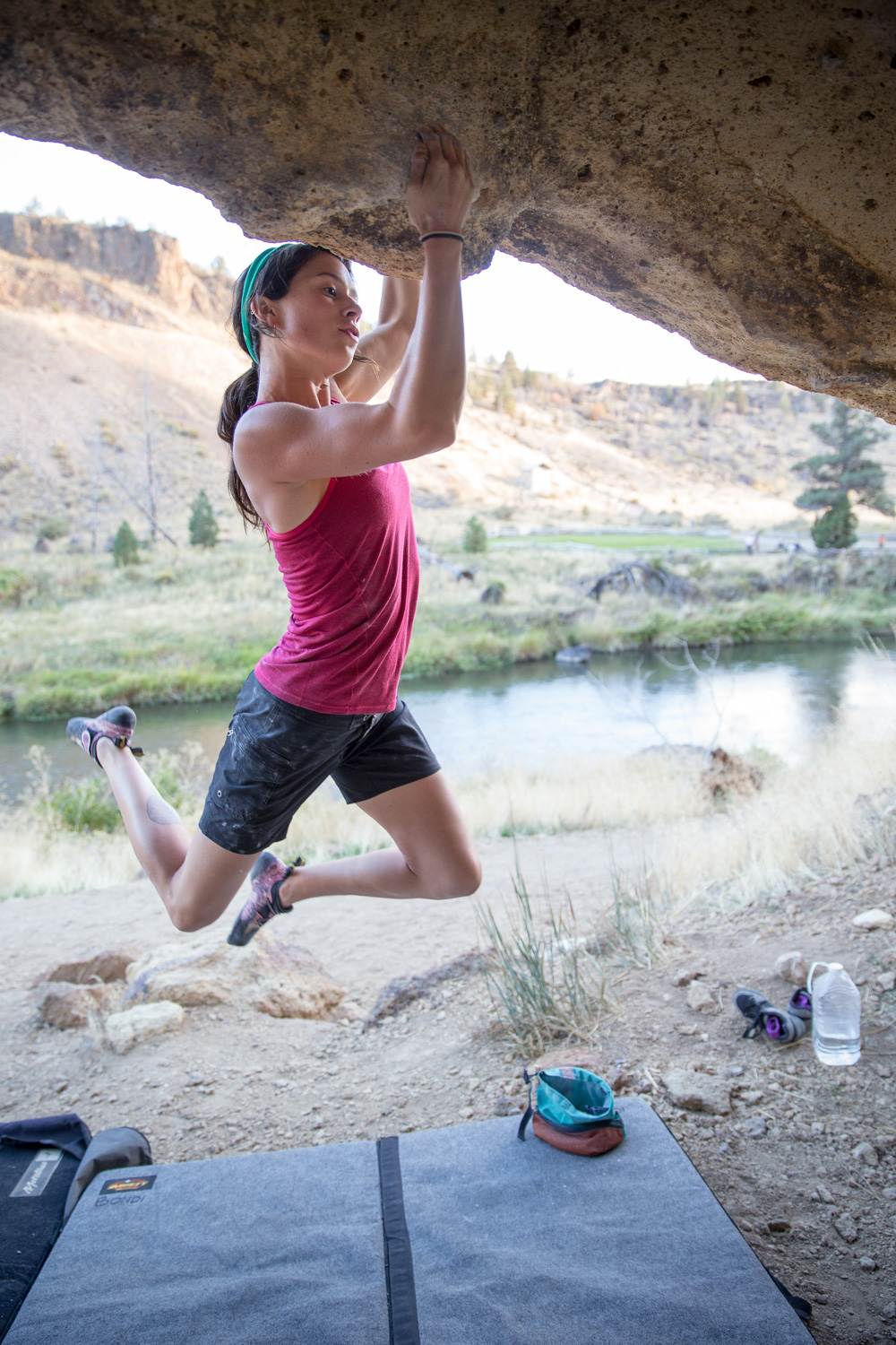 Bouldering. Smith Rock, OR