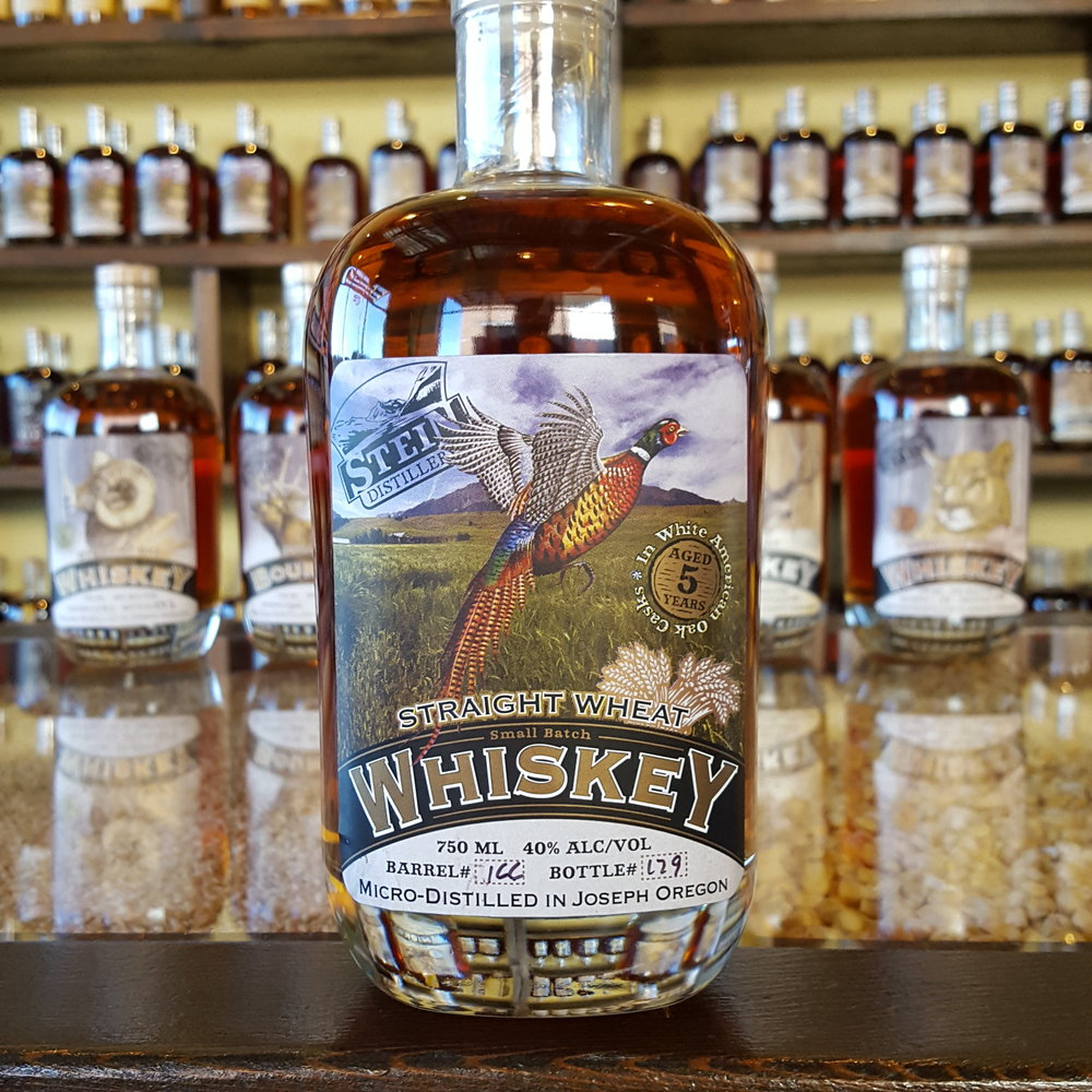 5yr Straight Wallowa Wheat Whiskey - *NEW WHISKEYOLCC Code: 4950B
