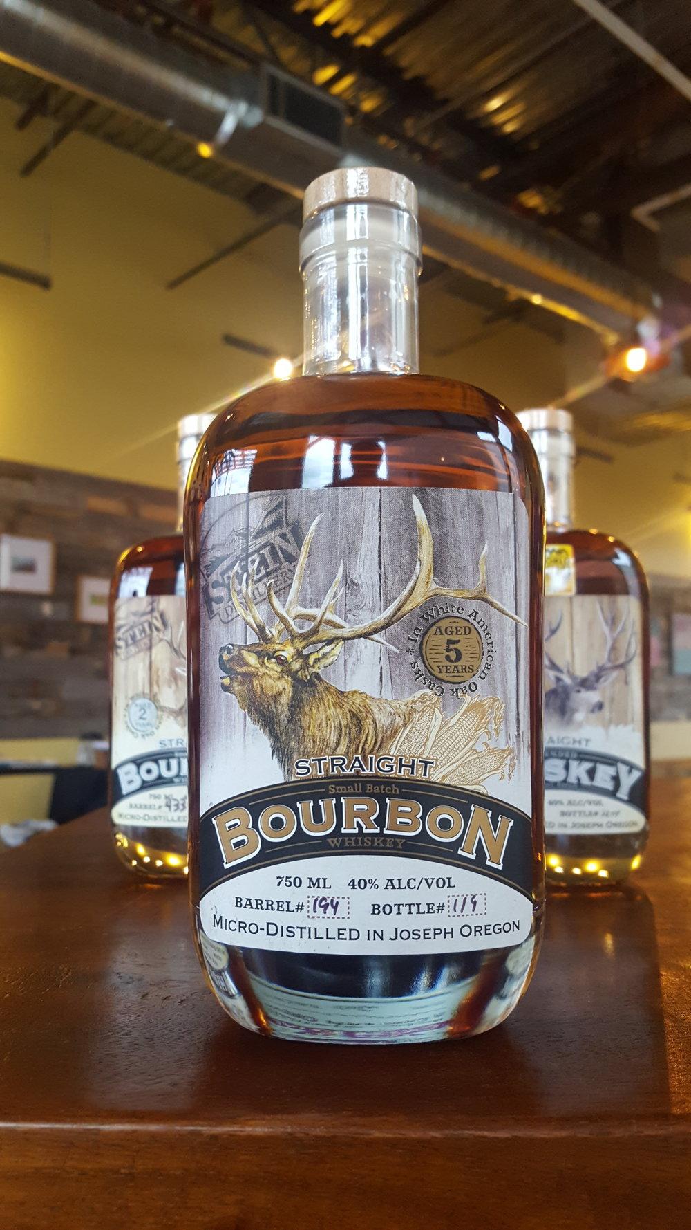 5yr Straight Bull Bourbon - OLCC Code: 3126B