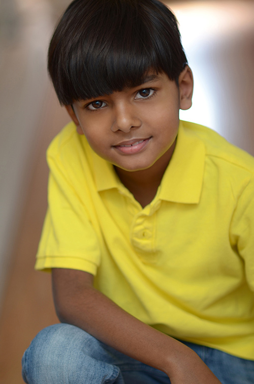Male kids headshot