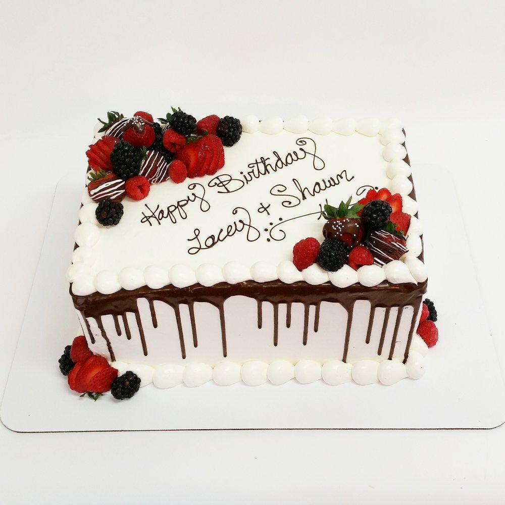 Signature Sheet Cake