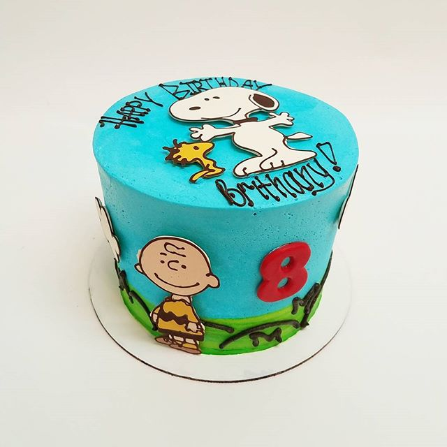 Peanuts Birthday Cake!