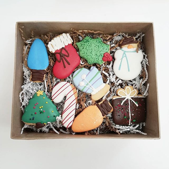 Don't be that person who forgets to bring cookies to the holiday party! Stop by and pick some up!