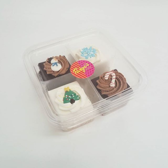 Perfect 4 Pack of Petit Fours!  Great for client gifts, teacher gifts, and perfect to ship!