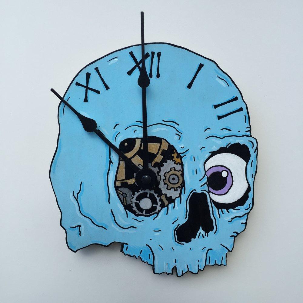 %22Skull Clock%22.JPG