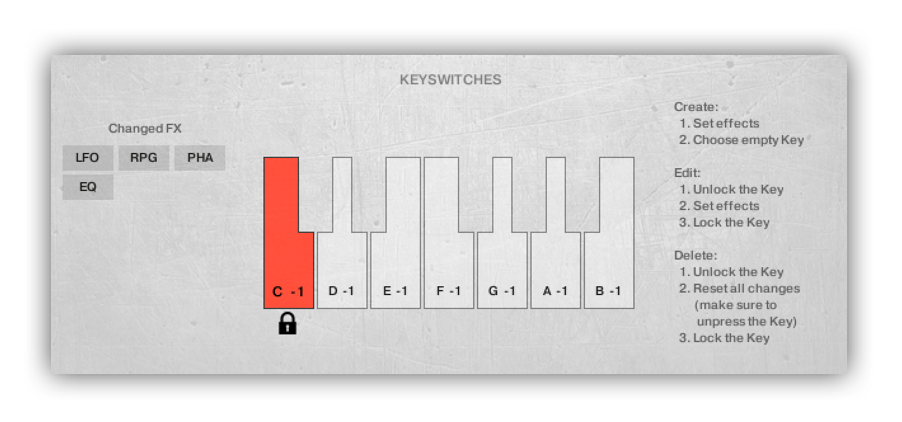 Advanced Key switch function