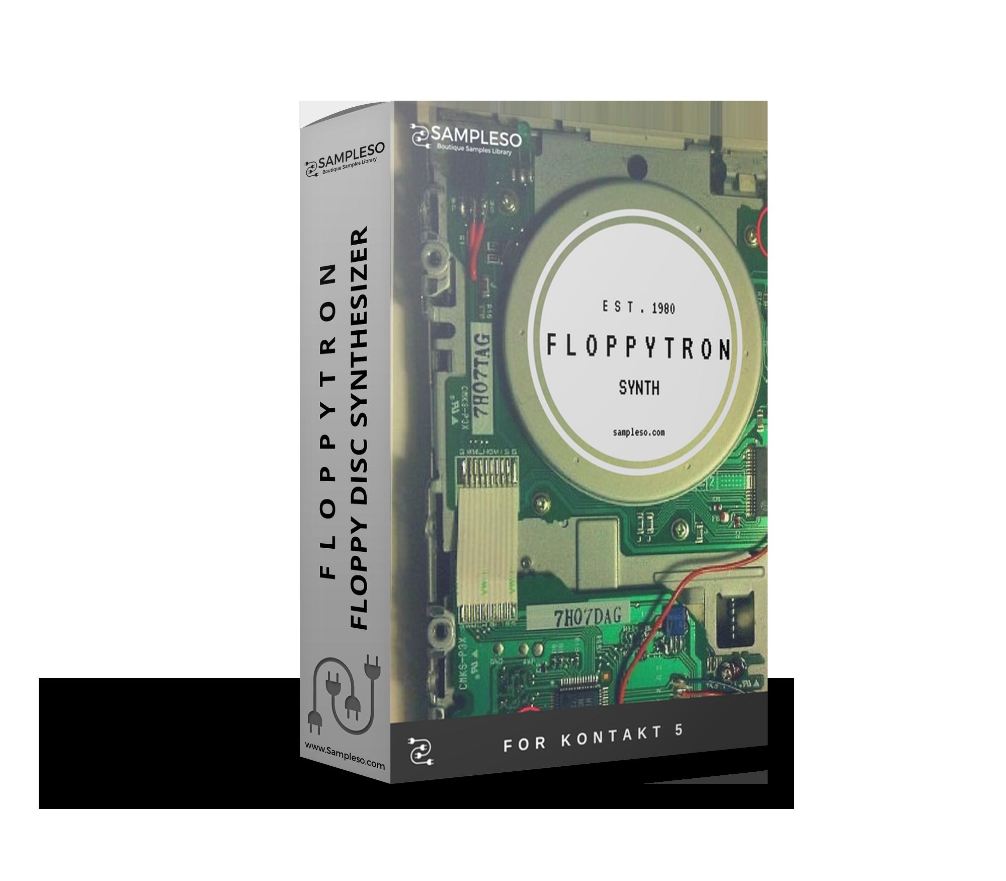 THE FLOPPYTRON SYNTH — Sampleso