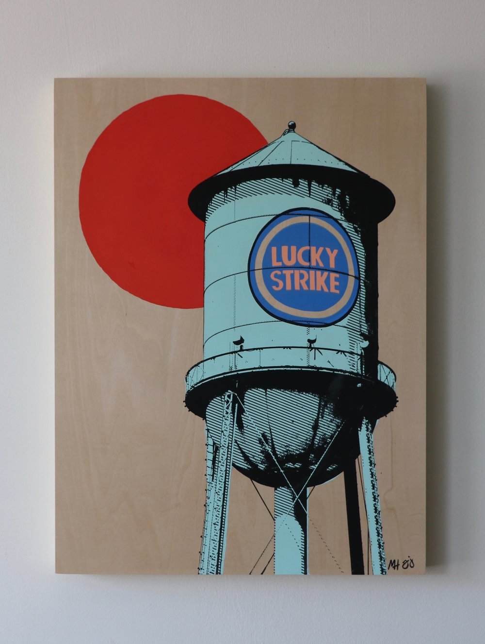 "Lucky Strike I  18"" x 24""  Sold"