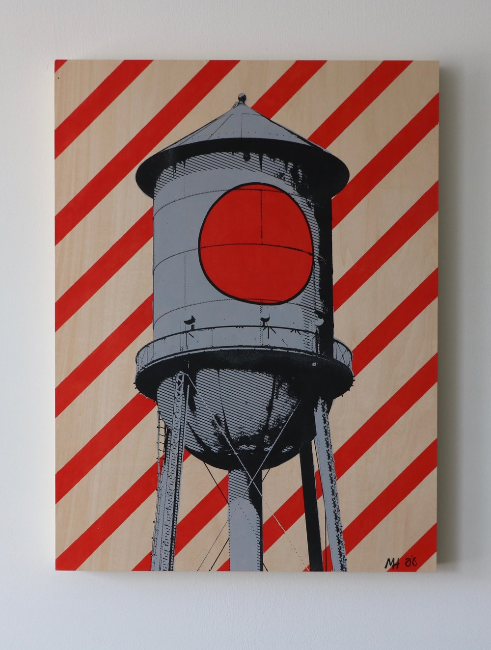"Lucky Strike II  18"" x 24""  Sold"