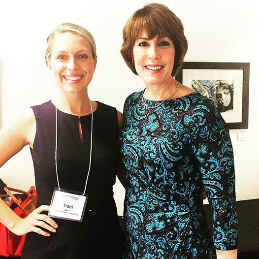 CEJ's Traci Deen and the Honorable Gwen Graham