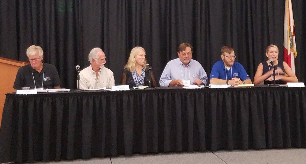 Dr. Robert Knight, John Thomas, Linda Young, Clay Henderson, John Joplin, Traci Deen