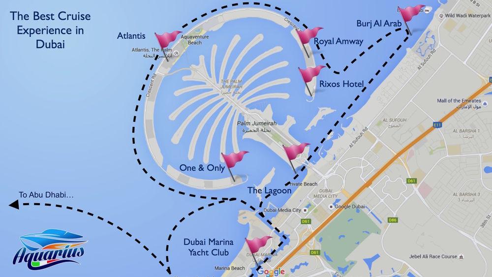 Cruise routes