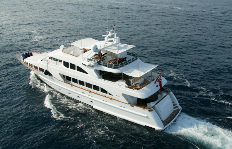 An event held on a private luxury yacht is impressive and memorable