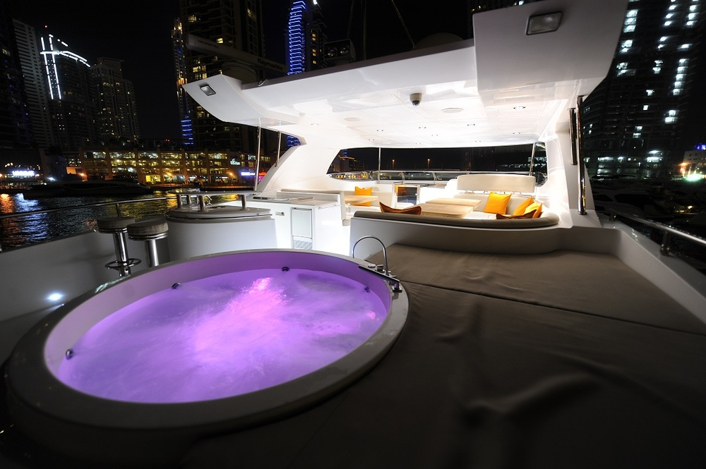 Ultimate Luxury: the Jacuzzi