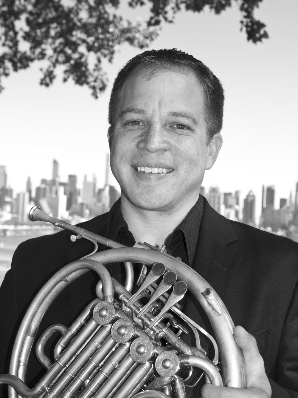 Kyle Hoyt - French HornKyle Hoyt is an active French Horn player and teacher in the NYC metropolitan area and beyond. Kyle can be heard frequently playing with the American, New Haven Symphony Orchestras, Orchestra of St. Lukes, St. Paul Chamber Orchestra, and the Knights Chamber Orchestra. He performs regularly at the Bard Music Festival Orchestral and Chamber Music Programs. Previously he was Associate Principal horn of the Jerusalem Symphony Orchestra, and held full time positions with the Columbus and Syracuse Symphony Orchestras. He recently recorded with Yo-Yo Ma and the Knights. Kyle was a member of the Broadway pit orchestras of Something Rotten, Sideshow, and the Radio City Christmas Spectacular Orchestra. Kyle has also recorded for Naxos, Telarc, Nimbus Records, CBS, and NFL Films.He currently serves as French Horn Faculty at Montclair State University in Montclair, New Jersey. He has given masterclasses at the University of Michigan, the Ohio State University, Bowling Green State University, and the University of Kansas.He studied at the University of Michigan and Manhattan School of Music. His principal teachers were Bryan Kennedy, Soren Hermansson, Erik Ralske, and Jeffrey Lang.