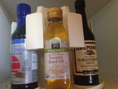 condiment jars on carousel.JPG
