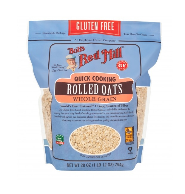 Can't find gluten free oat flour? Grind your own from rolled oats.