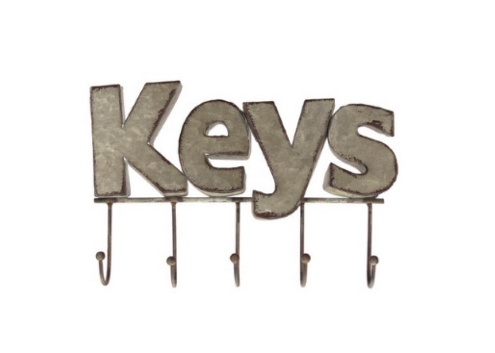 No need to hassle over misplaced keys and ensuing late appointments. Use a key hook.