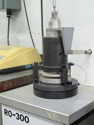 Rotational Split Level Shear Tester