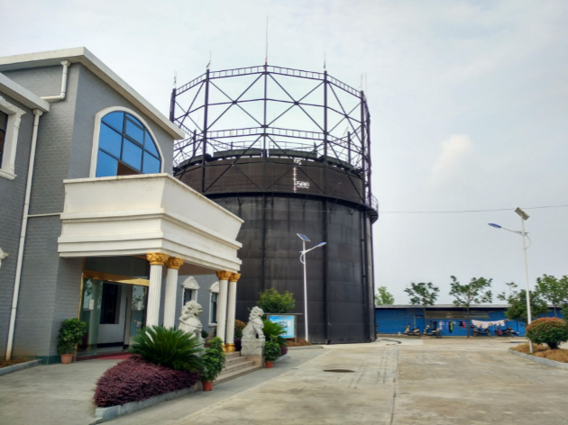 Bio-syngas storage