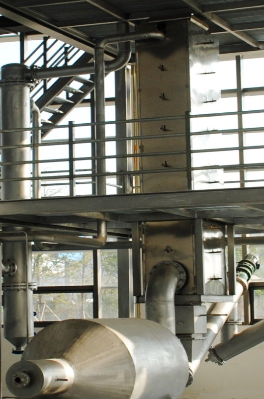 Continuous feeding biomass polygeneration Pilot system.jpg