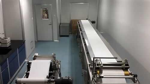 Membrane preparation pilot plant