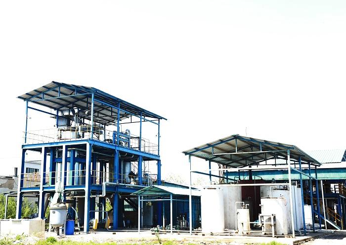 百吨级木质生物质制备航空燃油中试厂