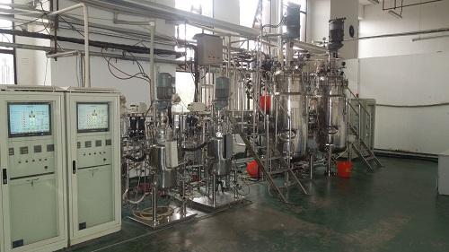 Heterotrophic production facility