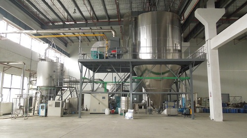 Spray tower and drying tower