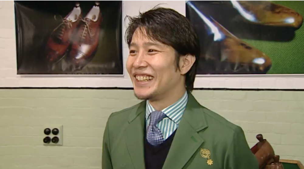TVNZ OneNews. That time I bought my Japanese Sensei to New Zealand for iD Dunedin Fashion week!  MARCH 16, 2016  https://www.tvnz.co.nz/one-news/new-zealand/top-japanese-shoemaker-describes-kiwi-foot-fashion-ouch