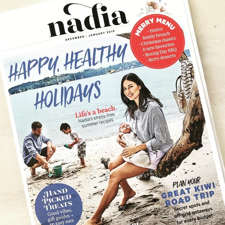 Nadia Magazine, Dec 2018